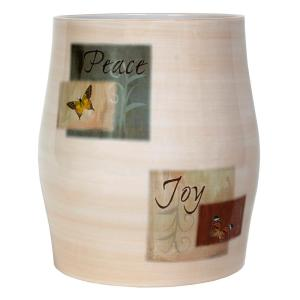 Saturday Knight Tranquility Free Standing Wastebasket in Spice by Saturday Knight