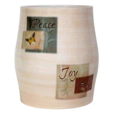 Tranquility Free Standing Wastebasket in Spice