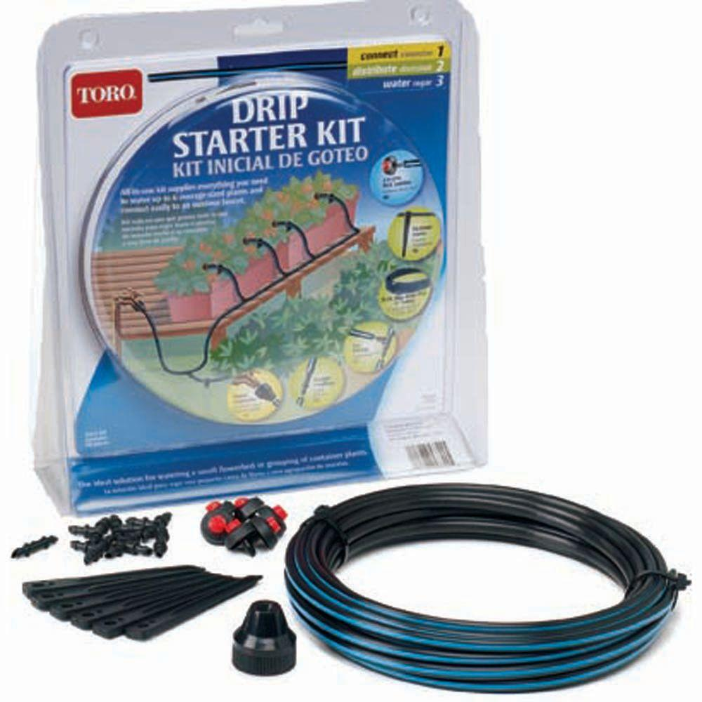 null Blue Stripe Drip Starter Kit