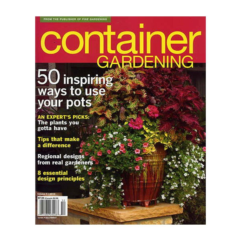 Fine Gardening Container Magazine-56533 - The Home Depot