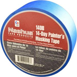 Nashua Tape 1 42 In X 60 Yds 140b 14 Day Blue Painter S Masking 1198738 The Home Depot