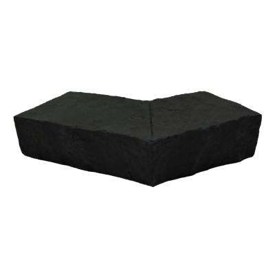Sandstone 6.25 in. x 4.25 in. Onyx Faux Stone Ledger Outside Corner (2-Pack)