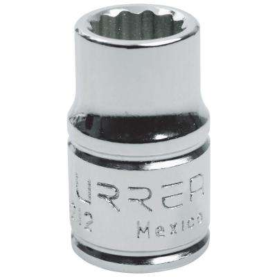 3/8 in. Drive 12 Point 11/32 in. Chrome Socket