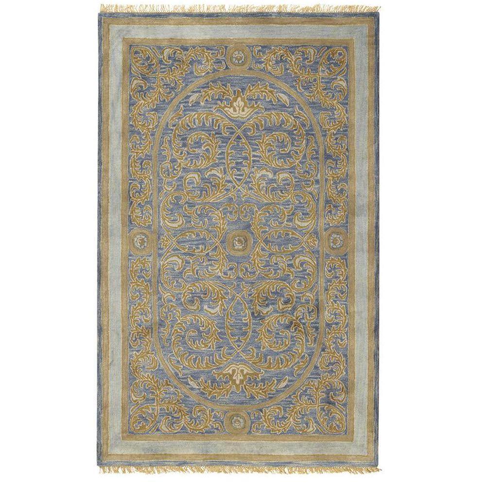 Home Decorators Collection Colette Blue 12 ft. x 15 ft. Area Rug