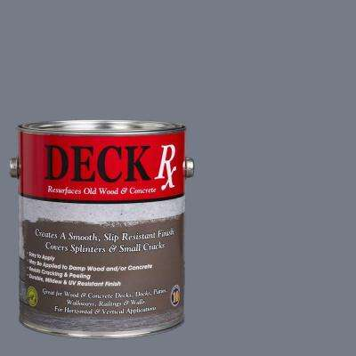 Deck Rx 1 gal. Slate Wood and Concrete Exterior Resurfacer