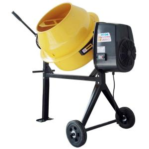 PRO-SERIES 3.5 cu. ft. 2/3 HP Contractor Duty Cement and Concrete Mixer by PRO-SERIES