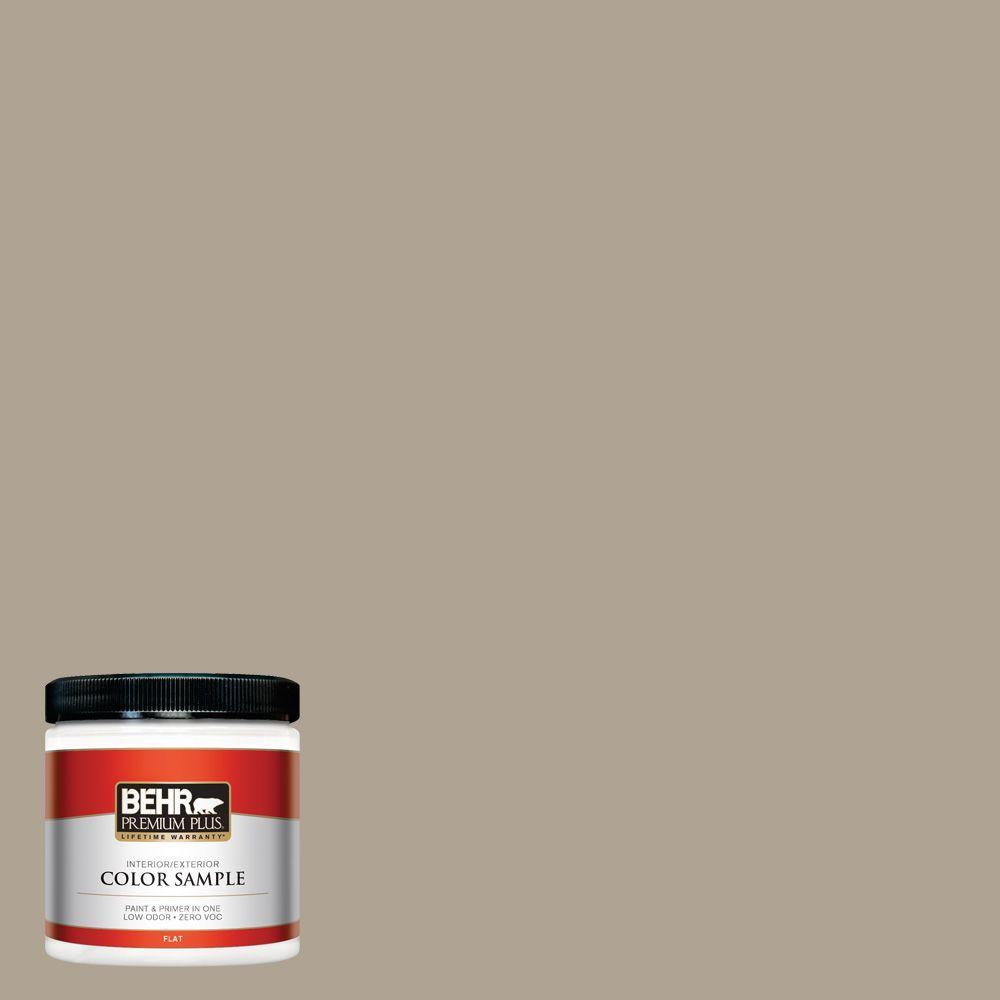 8 oz. #730D-4 Garden Wall Flat Zero VOC Interior/Exterior Paint and