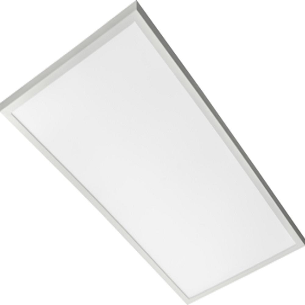 Lithonia Lighting Cpanl 24 In X 48 In White Lumens Selectable Led Flush Mount Panel
