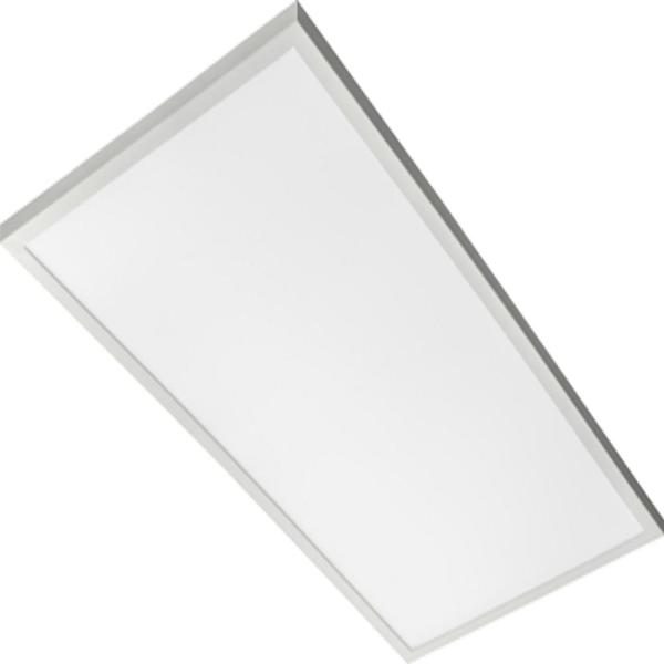 Contractor Select CPANL 2 ft. x 4 ft. White Integrated LED Selectable Lumen Flat Panel Light, Bright White 3500K