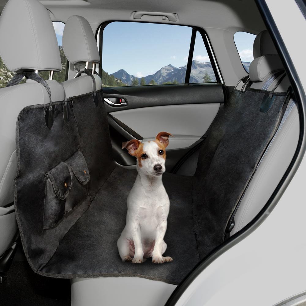 Pet Car Hammock >> Petmaker Pet Backseat Hammock Car Seat Cover