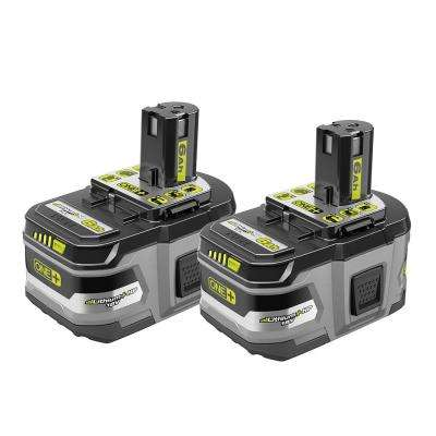 18-Volt ONE+ Lithium-Ion 6.0 Ah LITHIUM+ HP High Capacity Battery 2-Pack