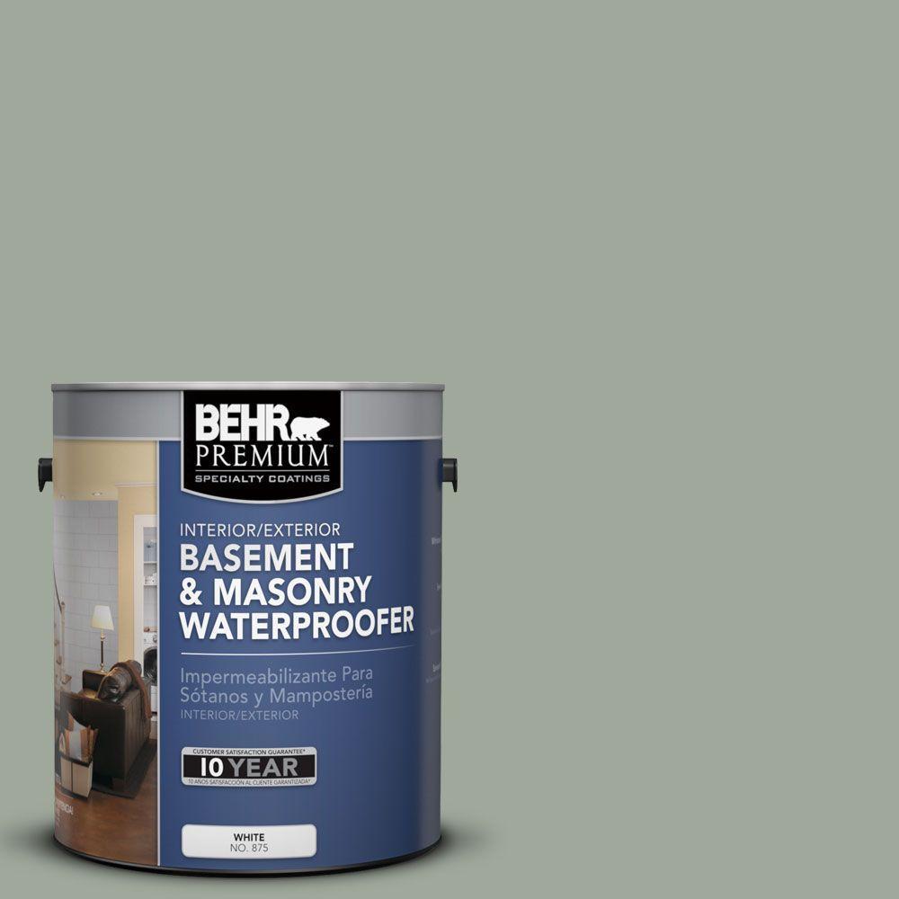 1 gal. #BW-57 Aged Sage Basement and Masonry Waterproofer