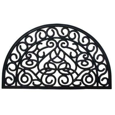Iron Heart 18 in. x 30 in. Rubber Outdoor Door Mat