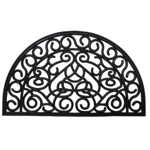 Click here to buy  Iron Heart 18 inch x 30 inch Rubber Outdoor Door Mat.