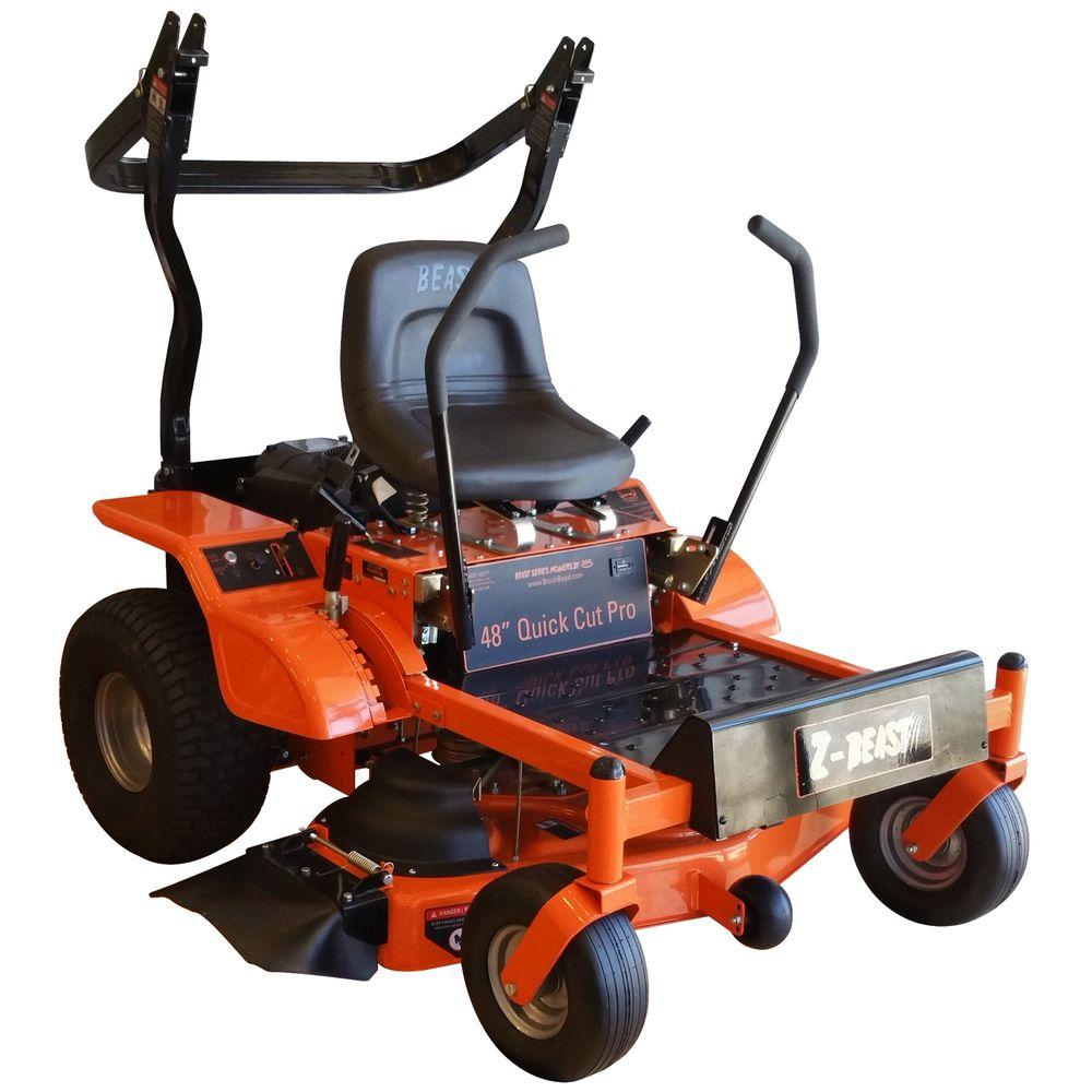 Z Beast 48 In Zero Turn Riding Mower With Rollbar Powered By A 20 Toro Timecutter Wiring Diagram Under Seat Wires