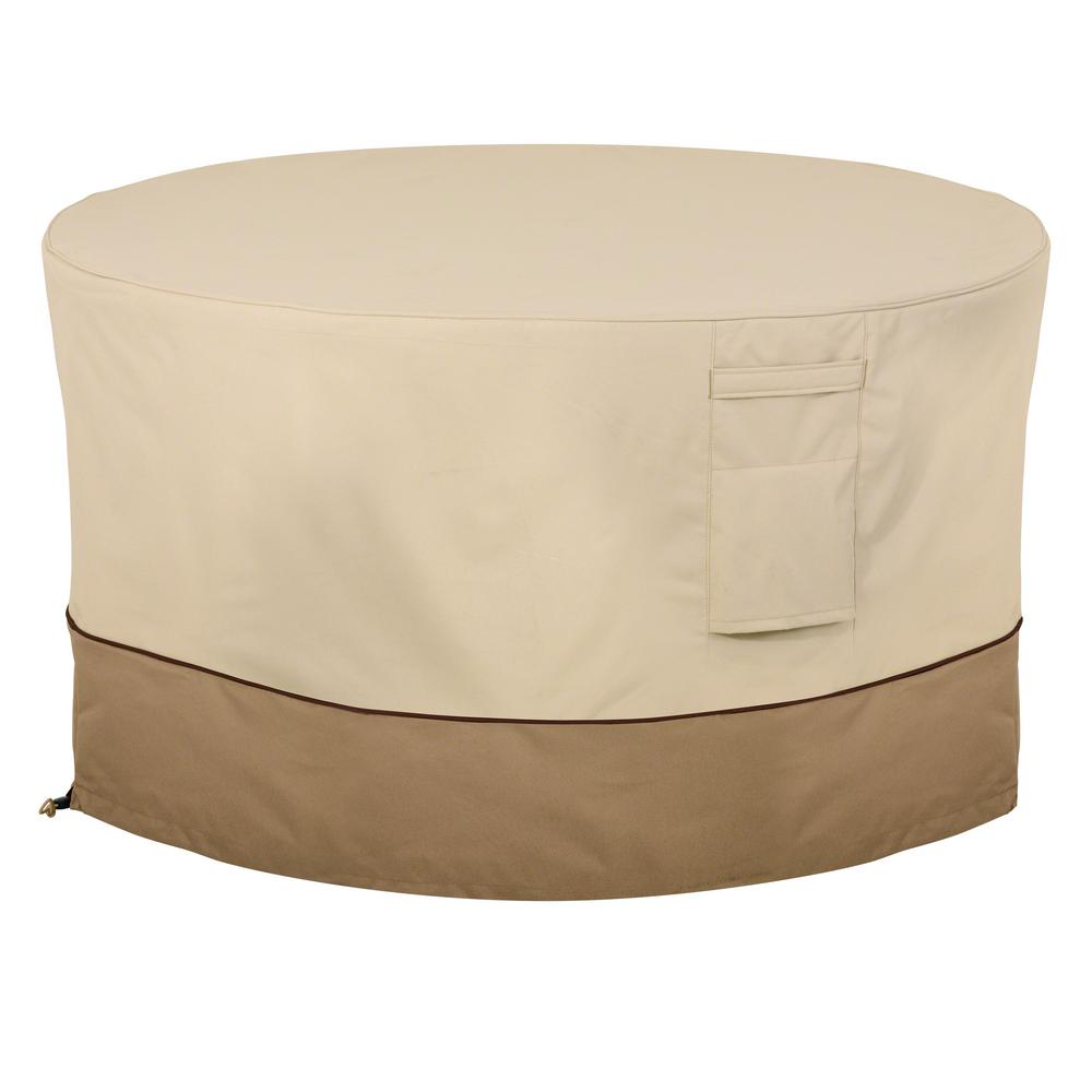 Veranda 42 in. Round Fire Pit Table Cover