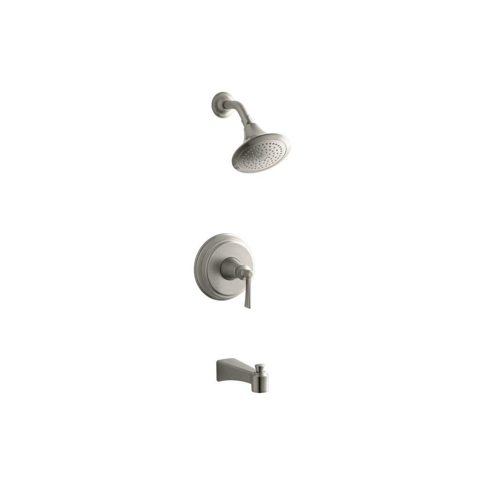 Archer Single-Handle 1-Spray 2.0 GPM Tub and Shower Faucet with Lever