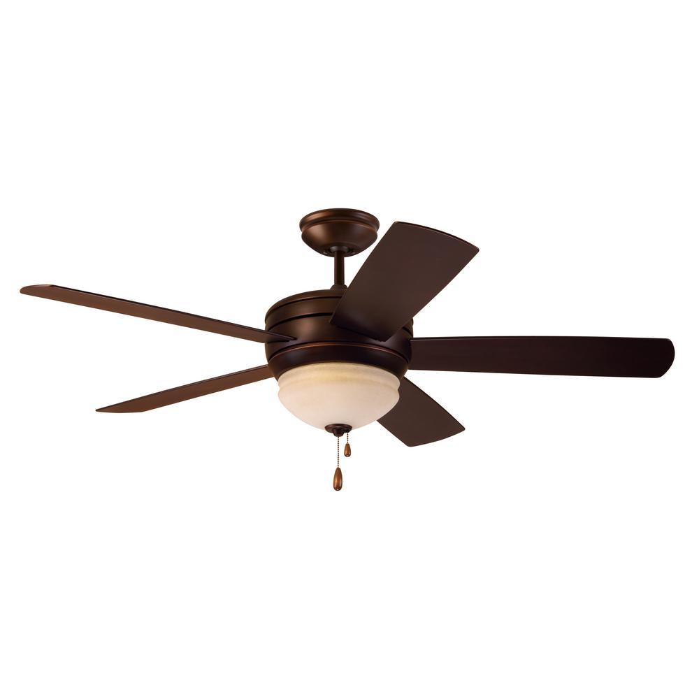 Summerhaven 52 in. Indoor/Outdoor Venetian Bronze Ceiling Fan