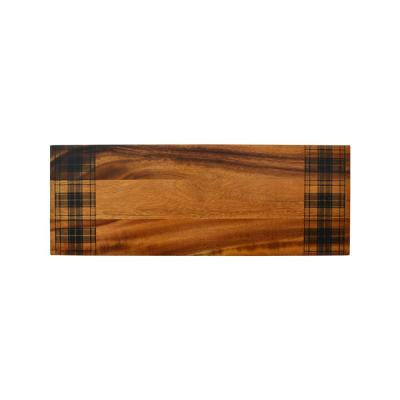 Wexford Plaid Wood Cheese Board