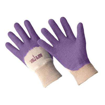 Ladies Premium Medium/Large Bellflower Latex Coated Gloves