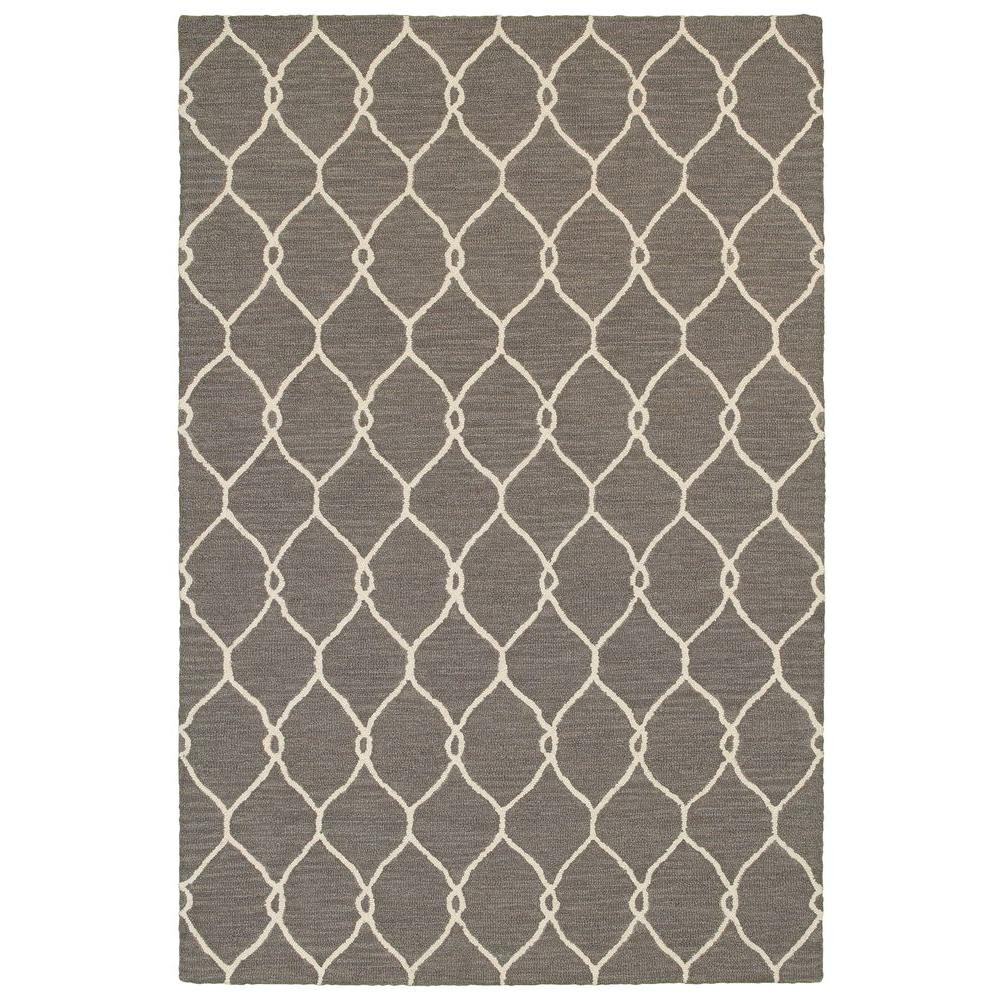 Dazzle Gray/Ivory 5 ft. x 7 ft. 9 in. Indoor Area