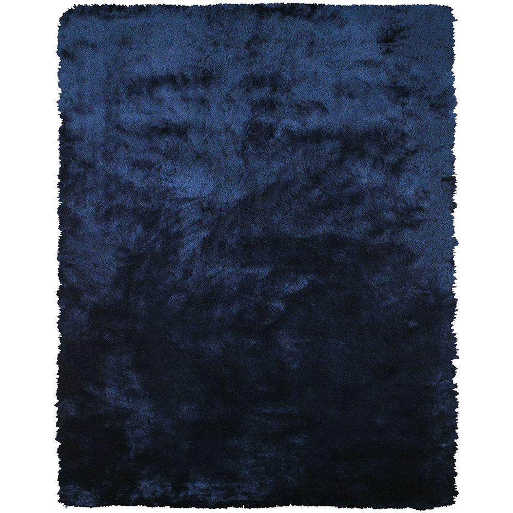 Feizy Indochine Dark Blue 2 ft. x 3 ft. 4 in. Indoor Accent Rug