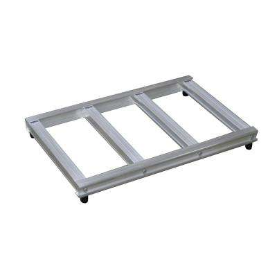 500 lb. Capacity 18 in. Wide Opening Mini Pallet for Hand Truck
