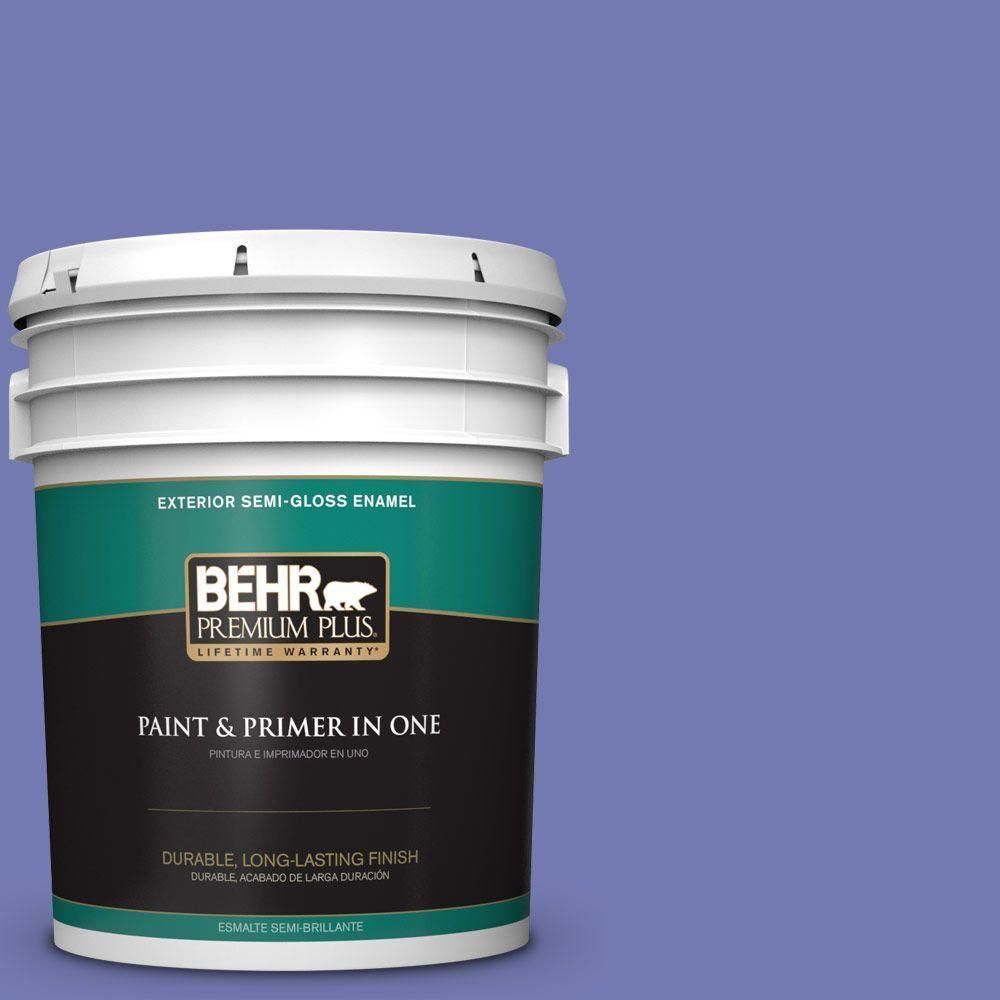 5-gal. #620B-6 Magic Moment Semi-Gloss Enamel Exterior Paint