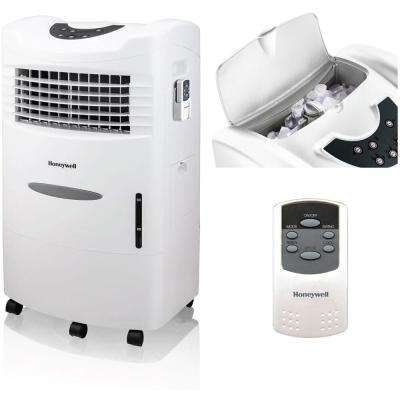 470 CFM 3 Speed Portable Evaporative Cooler with Remote Control for 280 sq. ft.