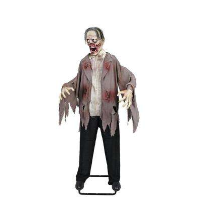 72 in. Halloween KD Zombie with LED Eyes
