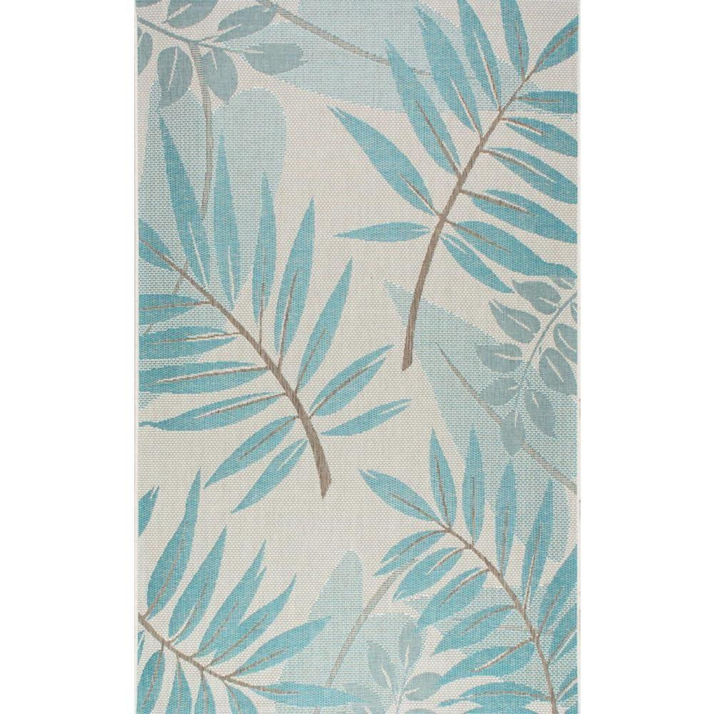 Nuloom Trudy Turquoise 8 Ft X 11 Ft Indoor Outdoor Area Rug
