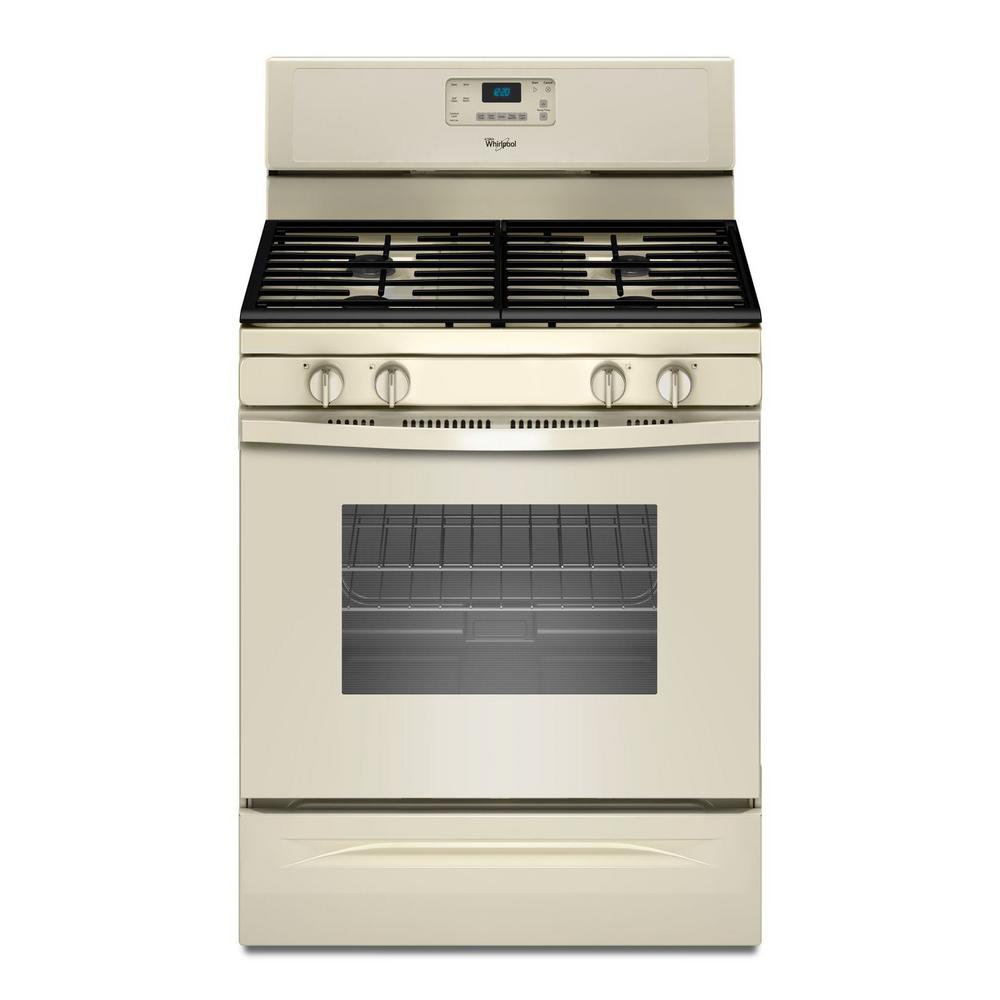 Whirlpool 5.0 cu. ft. Gas Range with Self-Cleaning Oven i...