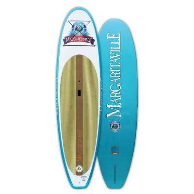 Stand Up Paddleboard 10 ft. 6 in. Deluxe Series in Aqua
