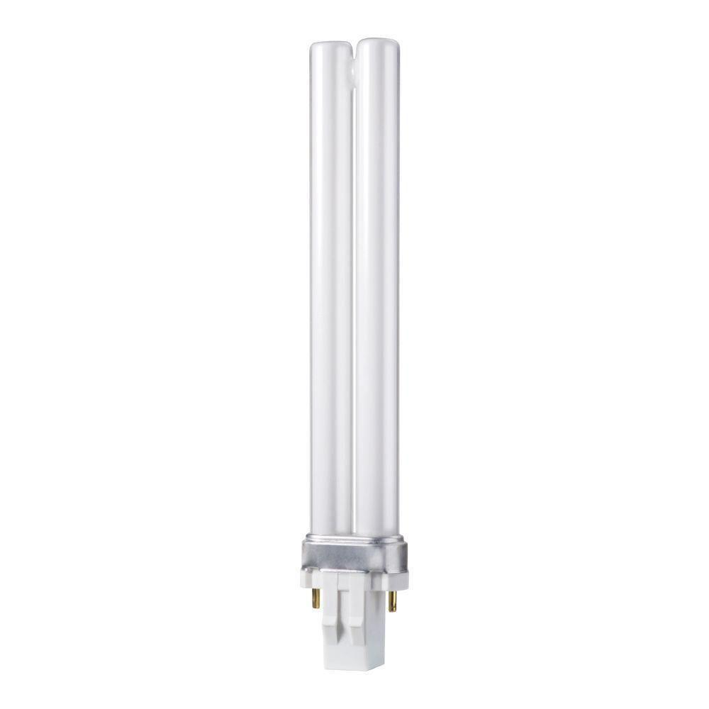 Philips 13 watt cool white 4100k 2 pin gx23 cflni light bulb 10 pack 146852 the home depot Fluorescent light bulb