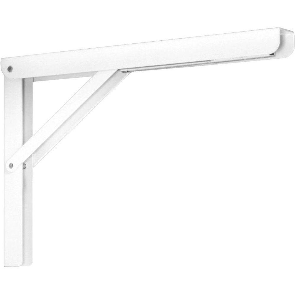 Peachy Knape Vogt 12 In Heavy Duty Folding Shelf Bracket In White Spiritservingveterans Wood Chair Design Ideas Spiritservingveteransorg