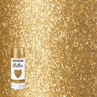 10 25 Oz Gold Glitter Spray Paint