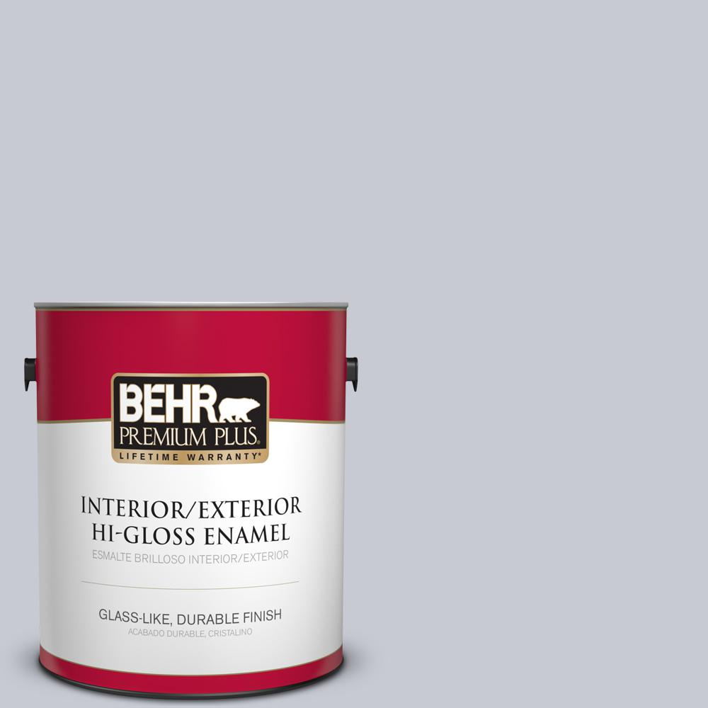 1 gal. #MQ5-18 Paparazzi Flash Hi-Gloss Enamel Interior/Exterior Paint