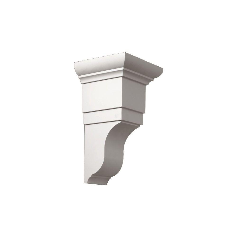 Fypon 7-7/8 in. x 8-1/4 in. x 14-7/8 in. Polyurethane Decorative Bracket