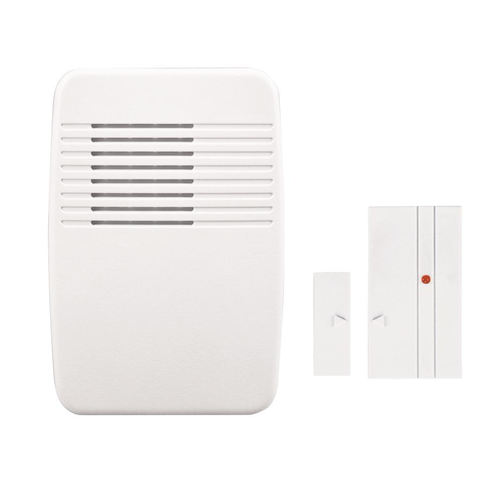 Heath Zenith Wireless Plug-In Door Chime and Entry Alert-SL-7368-02 - The Home Depot  sc 1 st  Home Depot & Heath Zenith Wireless Plug-In Door Chime and Entry Alert-SL-7368-02 ...