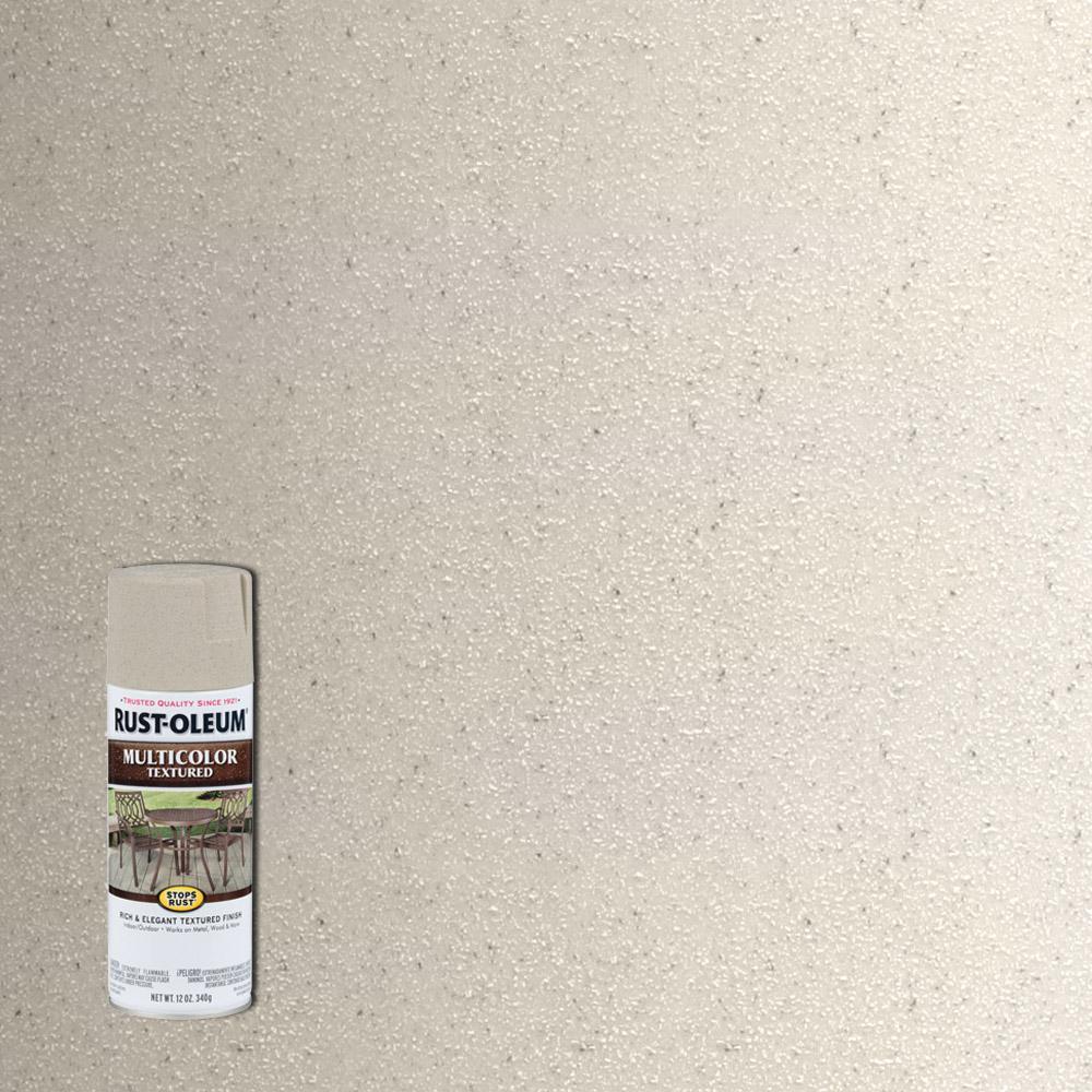 Rust-Oleum Stops Rust 12 oz. MultiColor Textured Caribbean Sand Protective Spray Paint