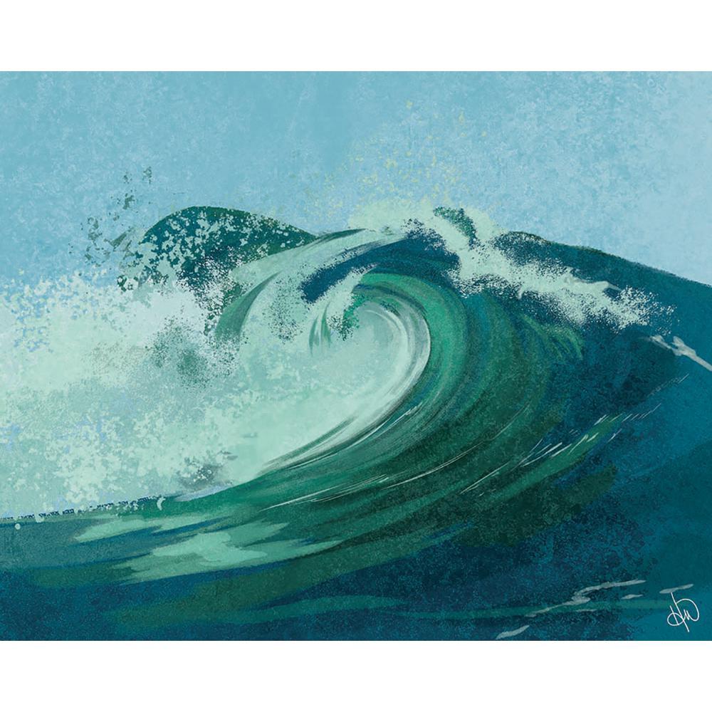 Torrent rolled canvas art (8 x 10) walmart. Com.