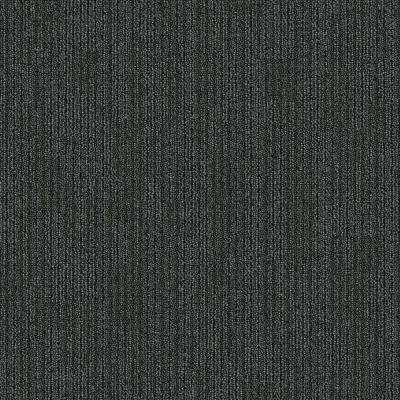 Merrick Brook Shadow Patterned 24 in. x 24 in. Carpet Tile (24 Tiles/Case)