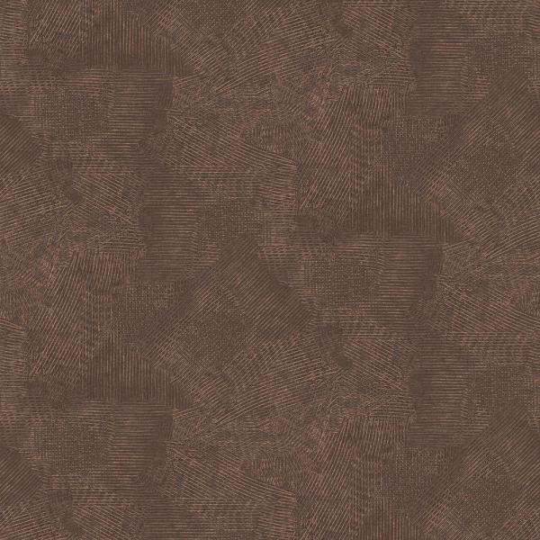 Graham & Brown Moonstone Chocolate and Copper Wallpaper Sample 10146194
