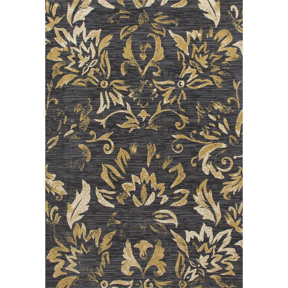 Art Carpet Bastille Faded Beauty Dark Gray 8 Ft X 11 Ft Area Rug