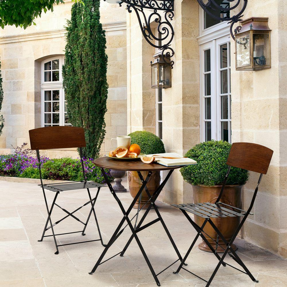 Bombay Outdoors Lucia 3 Piece Patio Bistro Set