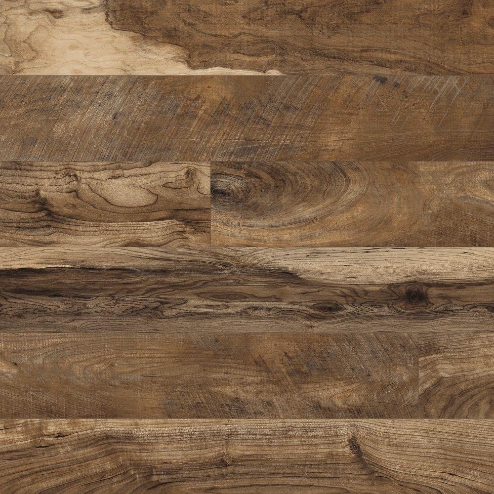 Hampton Bay Maple Grove Natural Laminate Flooring - 5 in. x 7 in ...