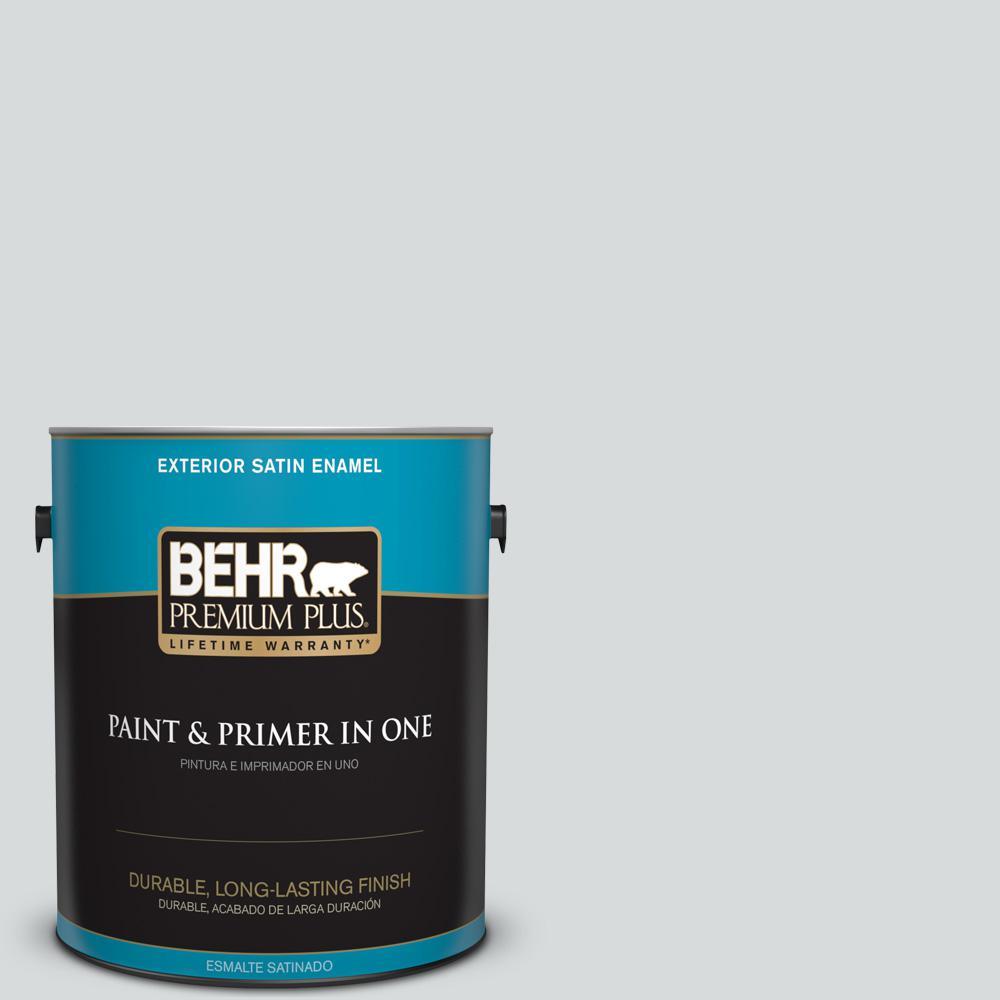 1 gal. #PPU26-14 Drizzle Satin Enamel Exterior Paint