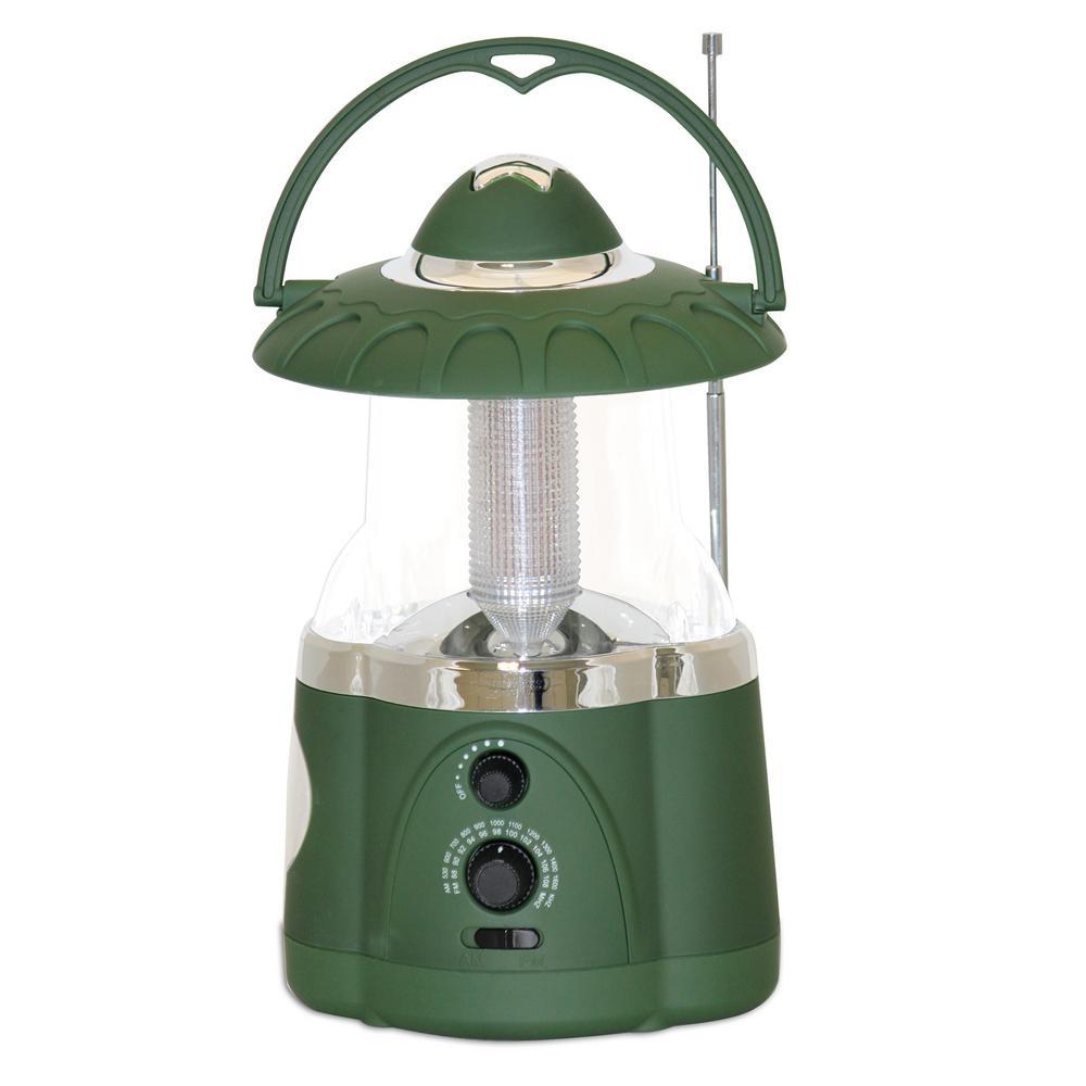 Green Battery Operated Multifunction Hanging Lantern