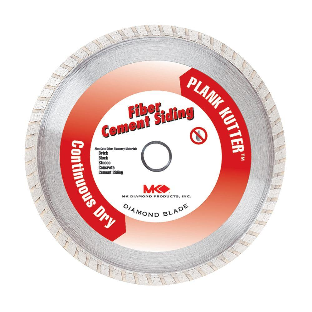 MK Diamond 7 in. Continuous Rim Dry Cutting Diamond Saw Blade