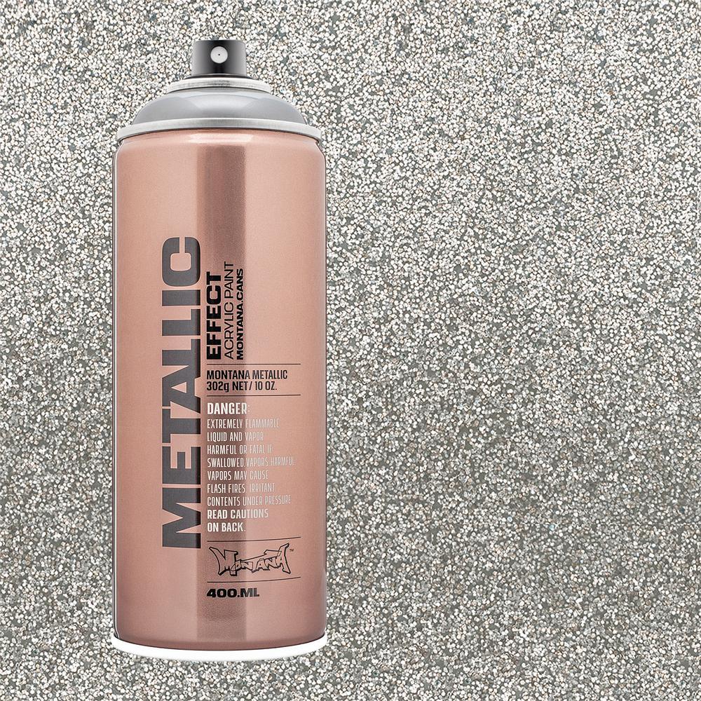 MONTANA 13 oz  EFFECT Metallic Silver Spray Paint